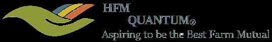 HFM Quantum (R) – Aspiring to be the Best Farm Mutual (Logo)